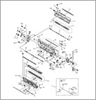 Genuine Canon FM2-9838-000 3rd Delivery Frame Asse